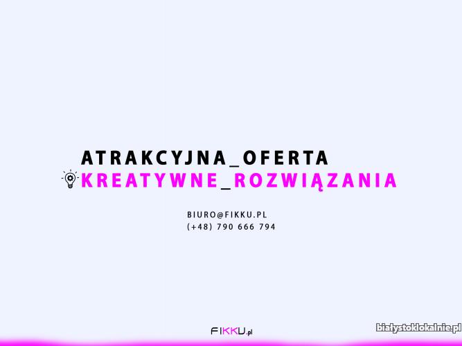 FIKKU.pl Strona internetowa tworzenie stron internetowych, strony www internetowe, treści na strony internetowe
